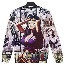 Luffy Ace Robin Nami Sanji Long Sleeve Sweatshirt