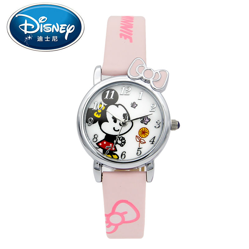 Disney Kids Watch Casual Fashion Cute Cool Quartz Wristwatches Boys Water Resistant for Children Mickey