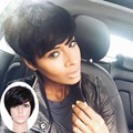 Natural hair wigs cosplay Short Pixie Cuts Wigs For Black Womens wig Synthetic Heat Resistant  Cheap Hair black Wig Perruqu
