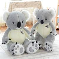 1.4 m tamaño Grande Del Oso de Koala Koala de peluche de Felpa Suave Peluche de Juguete Regalo de Cumpleaños Regalo Del Niño del juguete Fuente de la Fábrica de Toda La Venta Y Ventas Al Por Menor