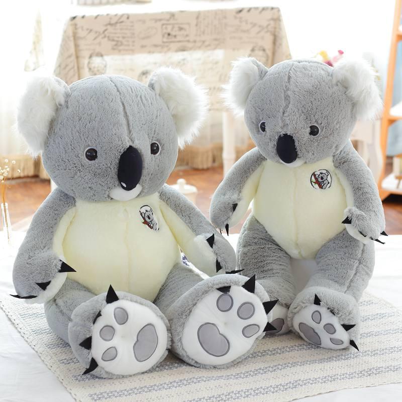 1.4 m tamanho Grande Koala Koala urso de Brinquedo do Urso de Pelúcia Macia de Pelúcia brinquedo do Miúdo Presente Venda Inteira E Varejo Fornecimento de Fábrica de Presente de Aniversário