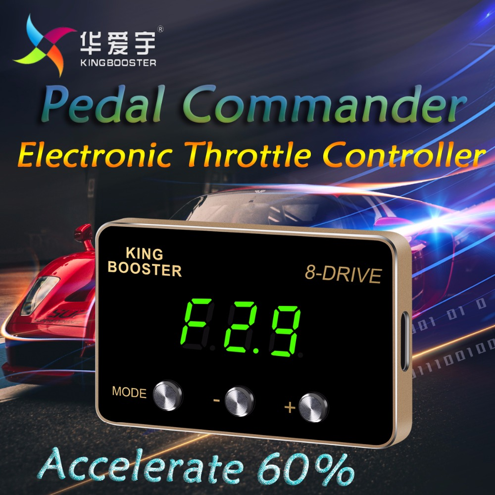 Автомобиль электронный контроллер дроссельной заслонки интеллектуальные Мощность конвертер Скорость педаль акселератора Commander для HONDA CRV