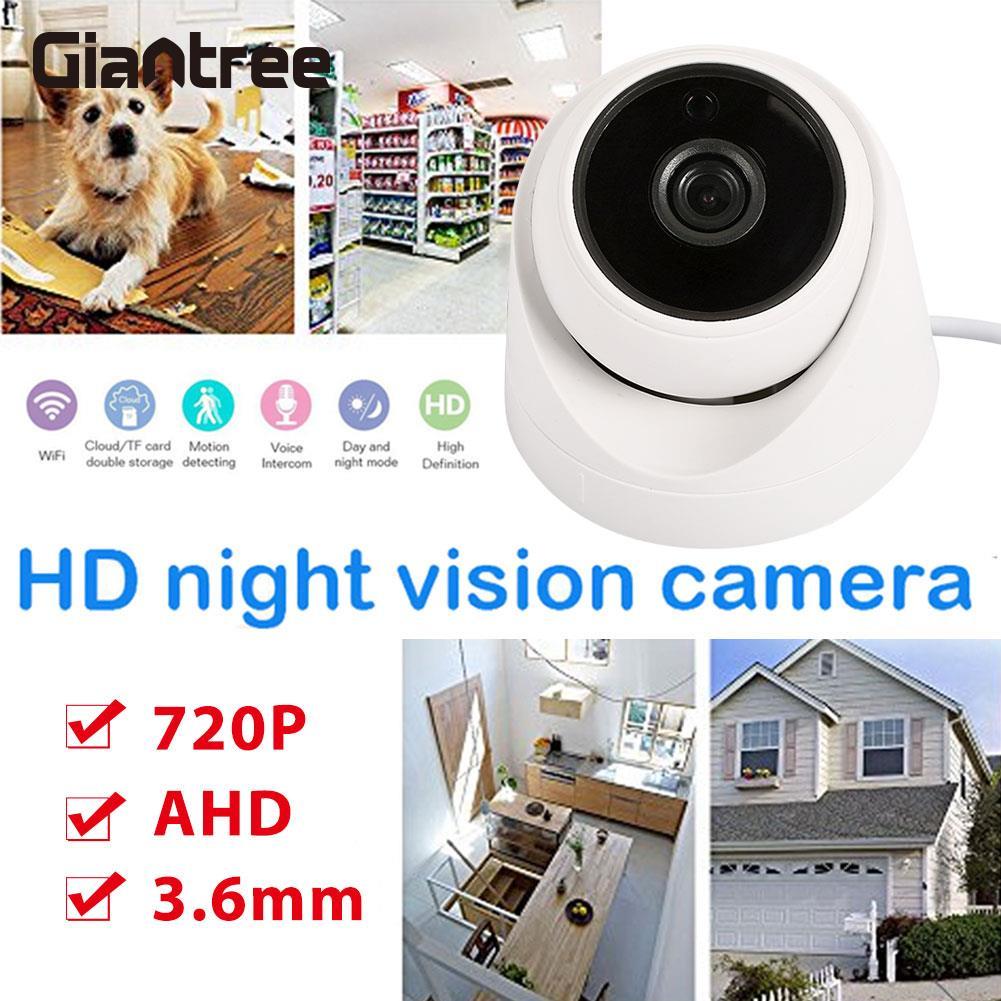 цена на 720P Security Camera Premium Night Vision AHD Camera Monitor HD Surveillance Camera
