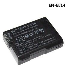 Bateria EN-EL14 ENEL14 Baterias Da Câmera Digital Para Nikon D5300 D5200 D3100 D3200 D5100 D5500 D5600 Coolpix P7000 P7100 P7800