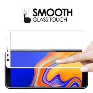 Image 5 - Protective Glass For Samsung Galaxy J4 J6 Plus 2018 Screen Protector For Samsung J4Plus J6Plus J 4 6 J4+ J6+ Tempered Glass Film