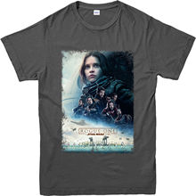 Star Wars T-Shirt, Rogue One Poster Inspired Top (SWRPS) Youth Round Collar Customized T-Shirts free shipping