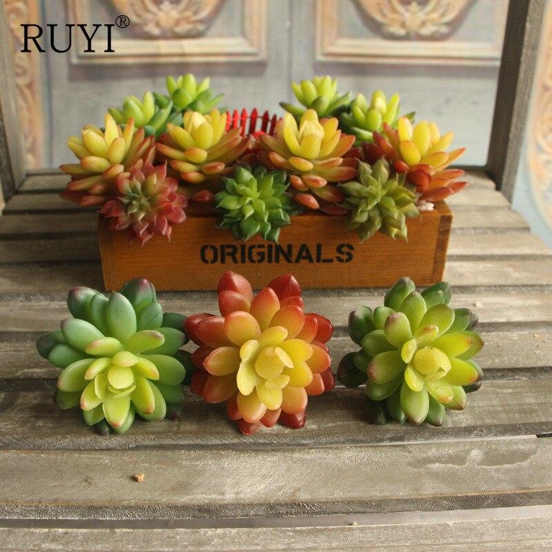Lifelike artificial fleshiness Cactus plant Real touch Mini palm bonsai local landscape decorative flower for talbe decoration