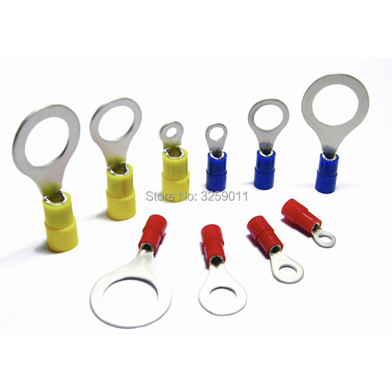 10 x RS Pro SNYDL Series Insulated Crimp Spade Connector 4mm² to 6mm² M6 1//4