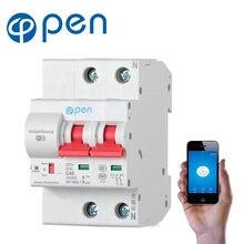 Open 2p 63a дистанционное управление wifi автоматический выключатель/умный