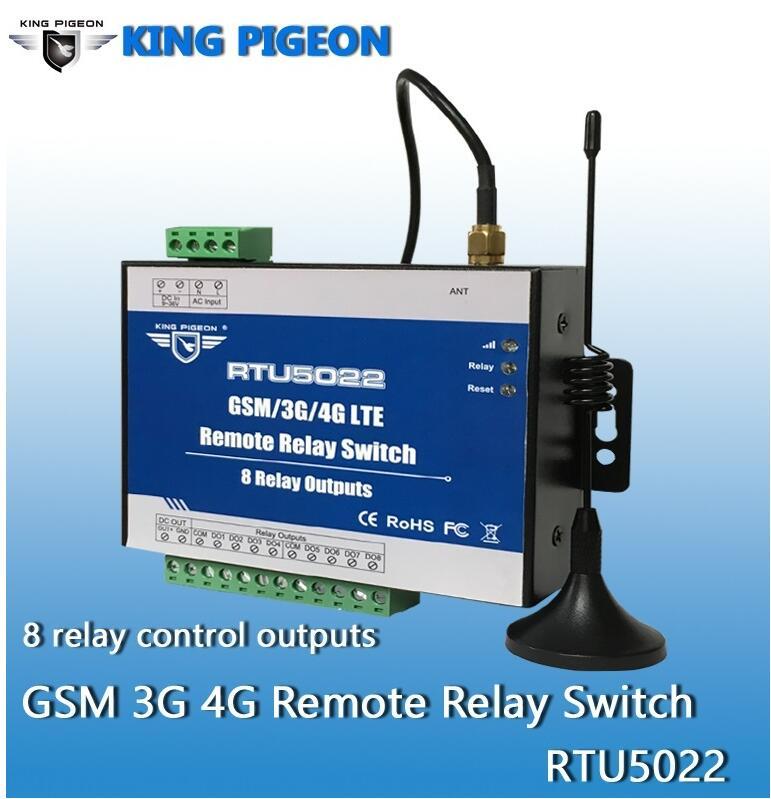 Gsm interruptor de relé remoto sms controle