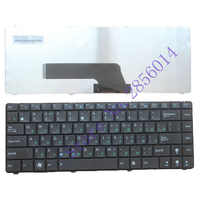 Nuevo ruso teclado para ASUS K40 K40IE K40IN K40AB K40AN K40A K40AC K401 P80 P81 X8AIN X8AC X8AE X87Q A411 teclado portátil RU