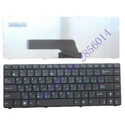 Russian New Keyboard for ASUS K40 K40IE K40IN K40AB K40AN K40A K40AC K401 P80 P81 X8AIN X8AC X8AE X87Q A411 RU laptop keyboard