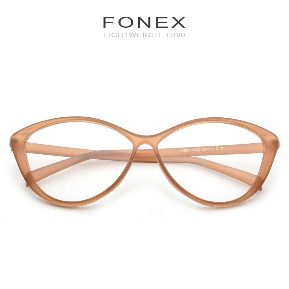 bf5987a7ac0ad ... TR90 Glasses Frame Women Female Clear Prescription Cat Eye Eyeglasses  2018 Ladies Spectacles Optical Frames Sexy ...