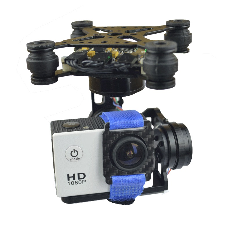 Storm32 3 Axis Brushless Gimbal Gopro3 / Gopro4 FPV Accessory