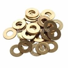100pcs Brass Flat Washers For Tattoo Machine Part M4 Screws Kit Supply — TMP-69
