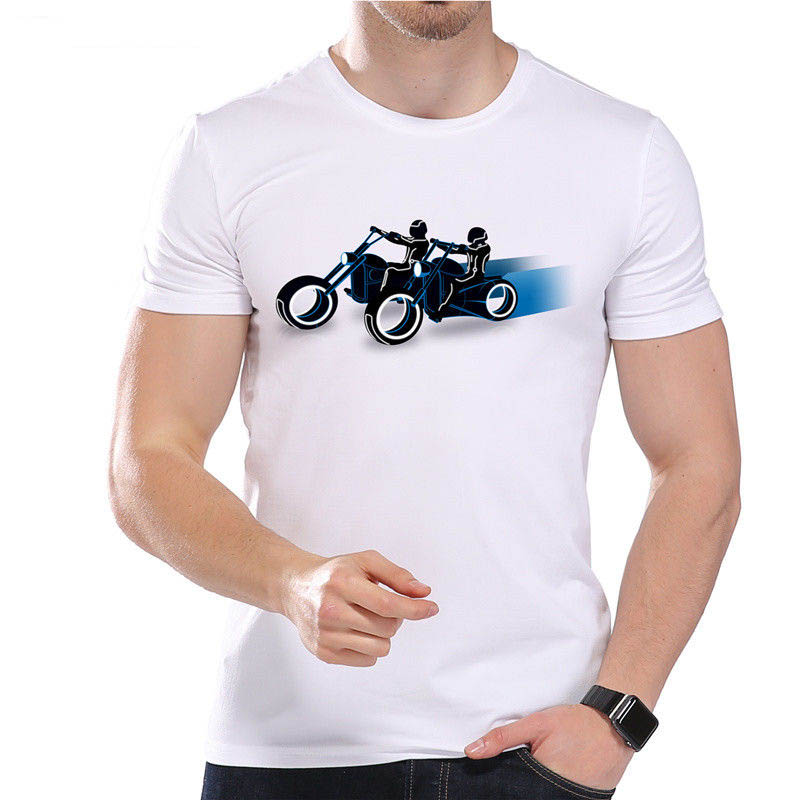 2018 Hip Hop Brand New Clothing Hot Sale 100% cotton Future Motorcycle Race Driving Speed Fast Cool Funny Joke Men Tee Shirt