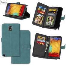 sFor Samsung Galaxy Note 3 Cover Case Luxury leather Multifunction 9 cards Wallet Flip Stent case sFor Samsung Note III cover