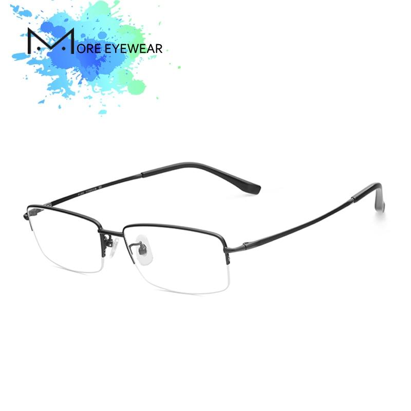 Titanium Eyeglasses Pure Titanium Glasses Prescription Glasses Optical Lens Man glasses Frame Vintage Frame Blue Light Blocking