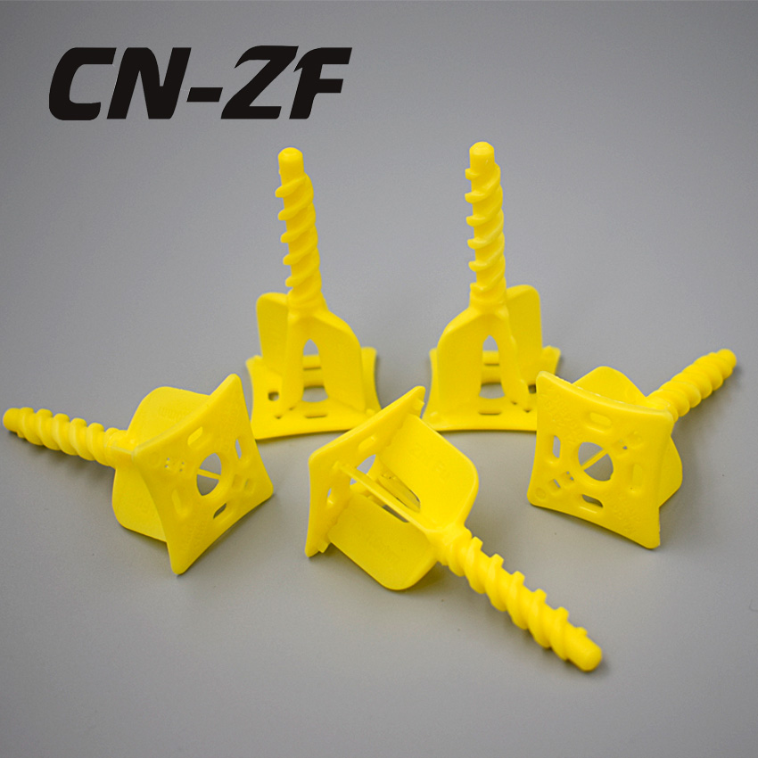 CN-ZF 50Pcs Plastic Sistem Ceramic Alignment Floor Levelers  Tile Tools Leveling Cross Spacers System Clips 1mm For Tiles
