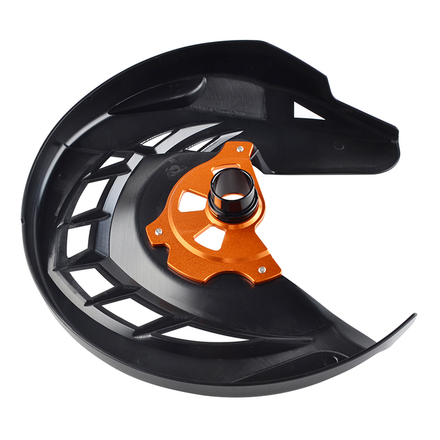 Front Brake Disc Guard For KTM 125 150 200 250 300 350 400 450 530 SX SXF XC XCF EXC EXCF XCW XCFW 2003-2015 For Husqvarna TE FE 6