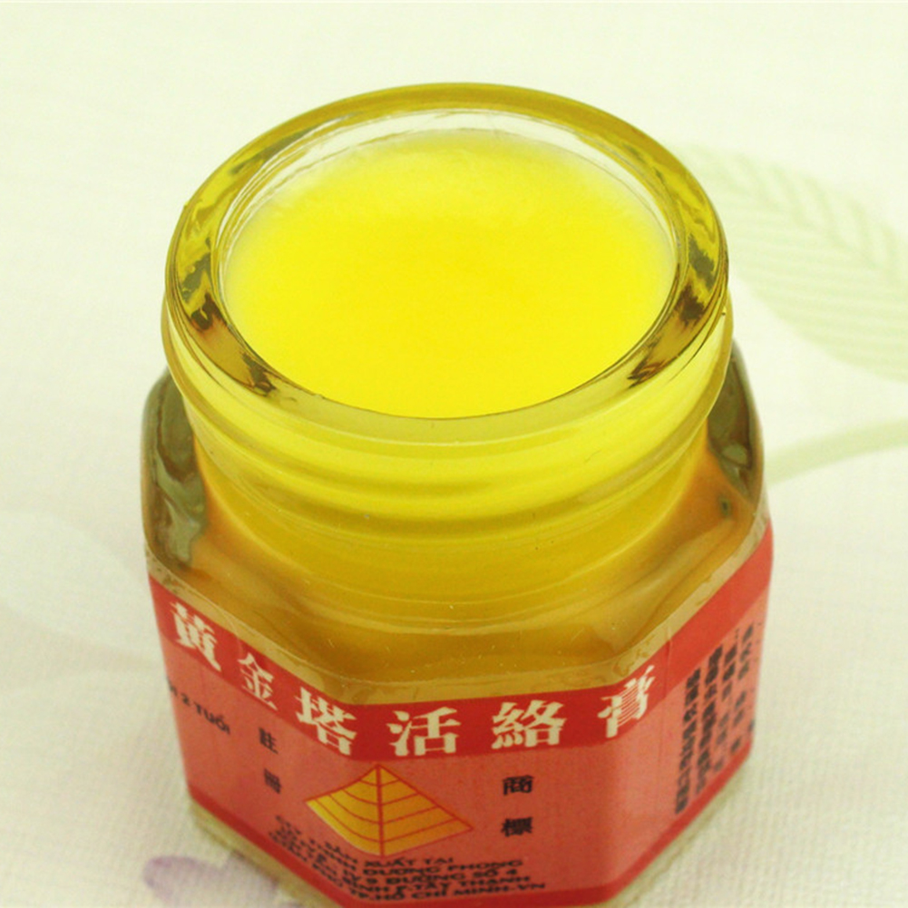 Original Vietnam Gold Tower Balm Ointment Pain Relieving Patch Massage Relaxation Arthritis Essential White Tiger Balm