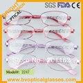 2247 brandnew женщин новый дизайн металлический каркас с ацетат храм близорукость очки очки очки