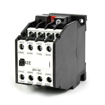 JZC1-62 AC Contactor Type Relay 380V 50Hz Coil Voltage 3-Phase 6NO + 2NC nike elite shinsen