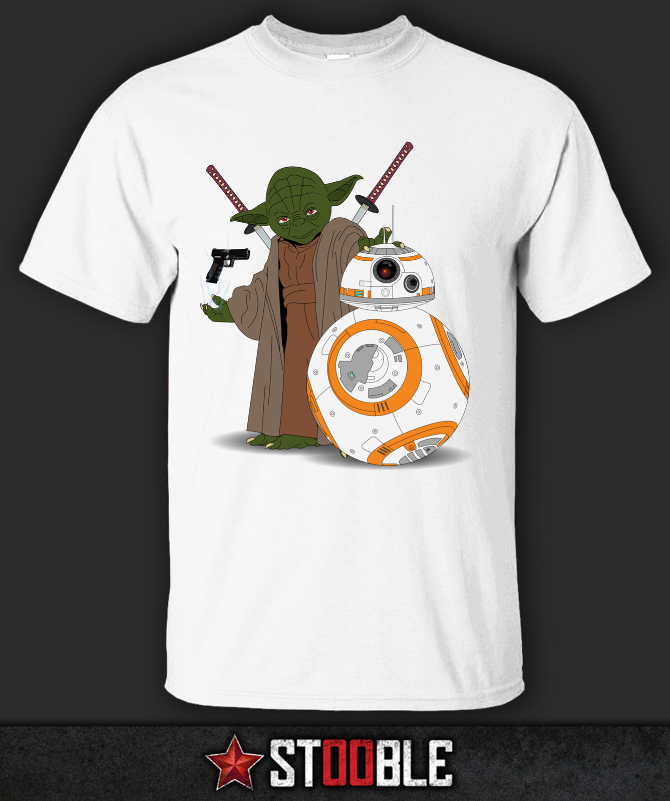 Ninja Yoda And Samureight T Shirt Direct from Stockist New T Shirts Funny Tops Tee New Unisex Funny Tops freeshipping in T Shirts from Men 39 s Clothing