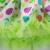 Día de pascua vestidos para niñas 2017 luz verde del mono recién nacido dress con exquisitos bordados de encaje top huevos patrón ropa