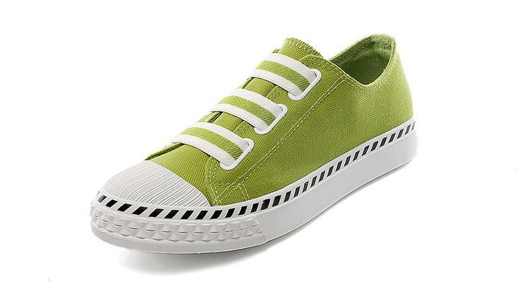 verde De Y Estudiantes Casual Plana Blanco Harajuku 2017 Coreana blanco Zapatos Primavera amarillo Marea Lona Joker Verano Negro qIxZ5Bw