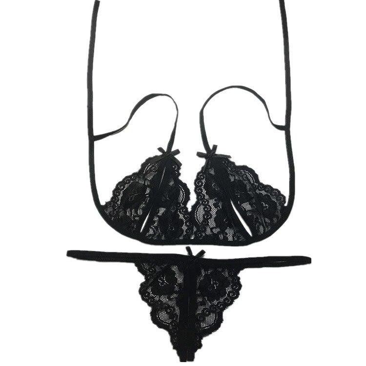 2Pc/Set Plus Size Sexy Lingerie Porno Women Open Crotch Body Lingerie Sexy Hot Erotic Babydoll Dress Sexy Costumes Underwear Set