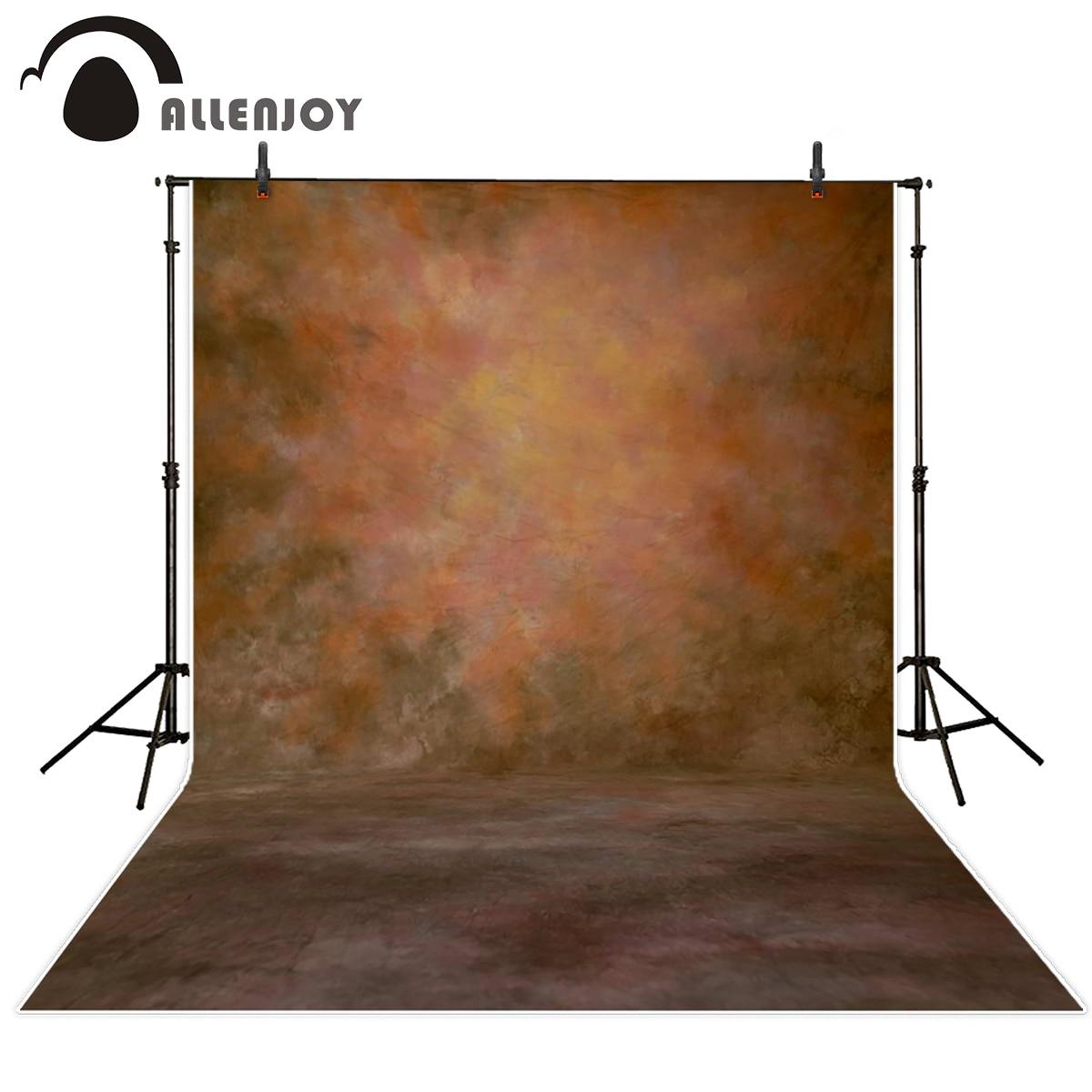 Allenjoy photo background brown solid color pure color dark photography backgrounds send folded 200*300cm excluding bracket