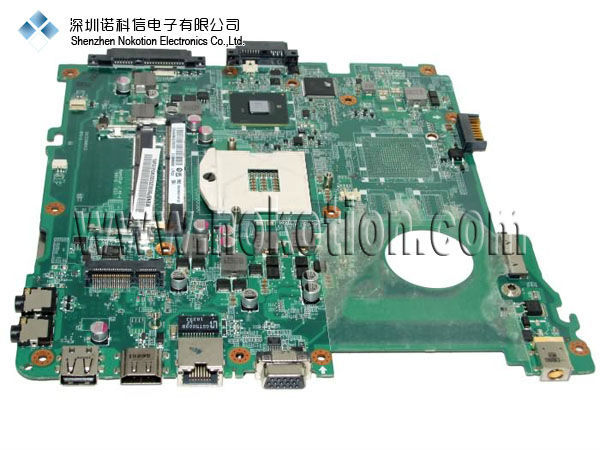 MBNBP06002 DA0ZQ9MB6C0 For Acer aspire 4738 Laptop font b Motherboard b font Intel DDR3 PGA989