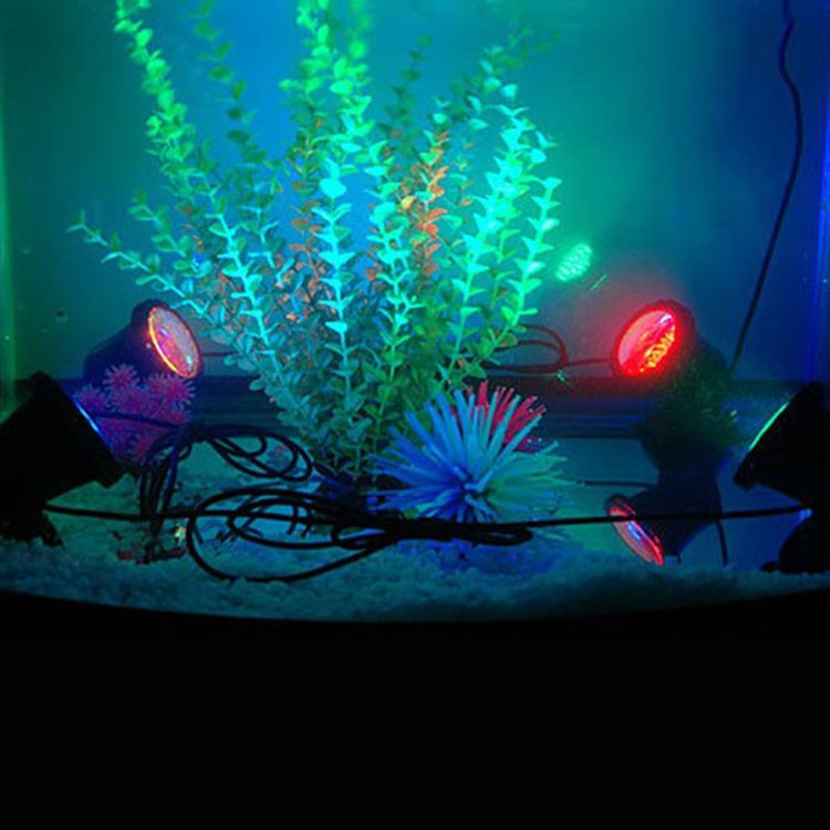 12V-LED-Underwater-Light-Waterproof-3-Spot-Lights-36LED-Garden-Pond-Pool-Tank-RGB-Landscape-Pool