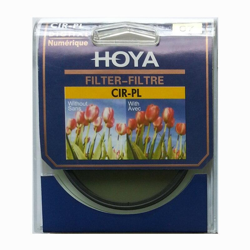 Nuevo Hoya CPL filtro 40,5mm 43mm 46mm 49mm 52mm 55mm 58mm 62mm 67mm 72mm 77mm 82mm Polarizador Circular CIR-PL Slim para lente de la cámara