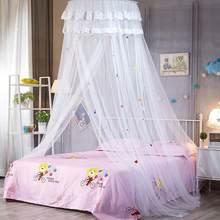 1 STÜCK Dome Spitze Moskito Zelt Spitze Bettwäsche Hängen Moskitonetz Rund Baldachin  Bett Vorhänge Für Kinderzimmer