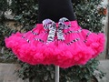 Holiday Free Shipping hottest princess pettiskirts tutu girls chiffon fluffy pettiskirts for teens PETS-066