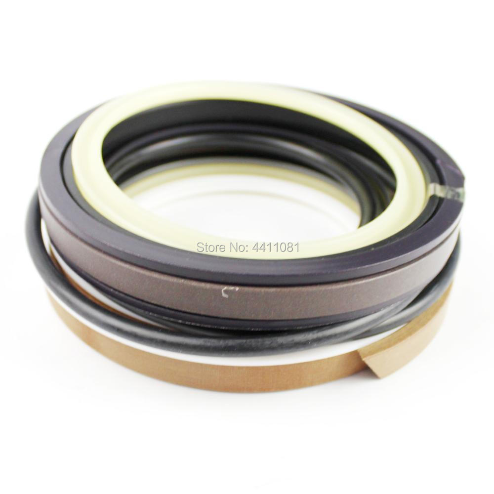2 Sets For Hitachi ZAX240-1 Boom Cylinder Seal Repair Service Kit 4661485 4448398 Excavator Oil Seals, 3 month warranty