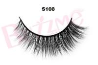 New Release 1 Pair S108 Luxe Mink False Eyelash 100 Real Mink Fur Handmade Individual Strip