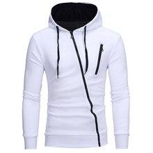 Neue 3D Hoodies Männer Marke Männlichen Hoodie Sweatershirt Seite Schräge  Pull Sweatshirt Männer Moletom Masculino Hoodies ef180843a8