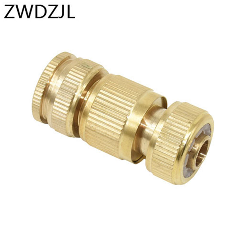 HTB1nBg9mcuYBuNkSmRyq6AA3pXa4 Garden brass hose quick connector 1/2 copper connector garden hose female Thread 1/2 3/4 water gun fitting 1set