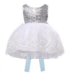 Party Formale Brautjungfer Kugel Nette Mädchen Kleid Neue Ankunft Baby Kinder Mädchen Kleidung Kleider Bowknot Lace Floral WEIHNACHTEN