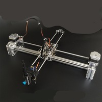drawbot draw masters lettering robot XY plotter drawing robot kit X Y axis writing robot support laser moduel