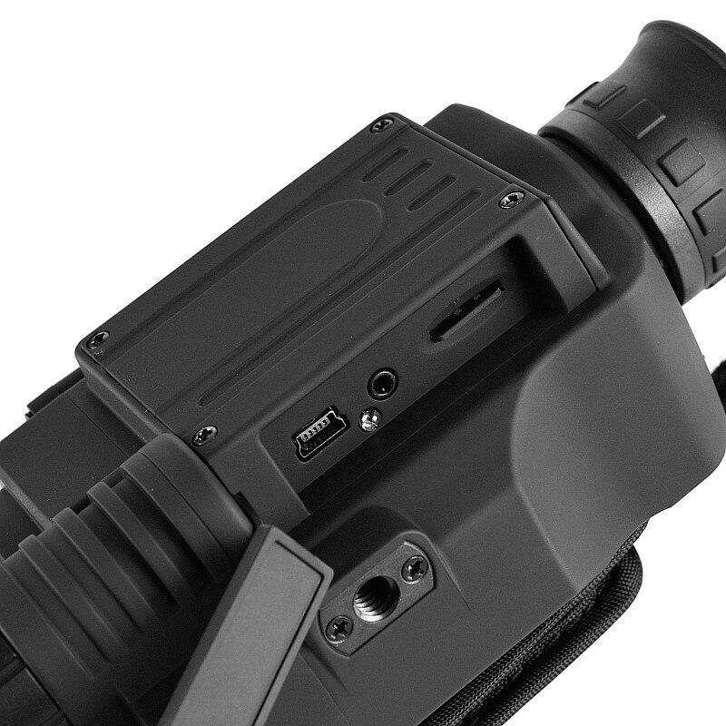 2019 mise à niveau infrarouge Vision nocturne monoculaire portée pour la chasse de nuit haute durée longue portée hd avec caméra intégrée prise de vue - 4
