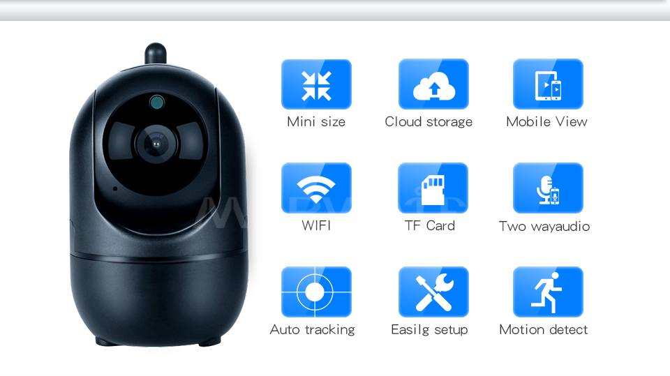HTB1nBgkKCzqK1RjSZFHq6z3CpXaU 1080P Full HD Wireless IP Camera Wifi IP CCTV Camera Wifi Mini Network Video Surveillance Auto Tracking Camera IR Night Vision