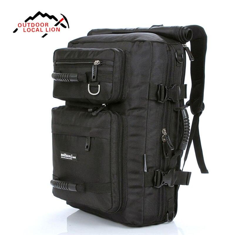 LEÓN LOCAL 32L mochila de Viaje de Senderismo Impermeable y Transpirable Escalad