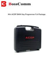 Mini programador chave do serralheiro de acdp para bmw adicionar chaves e akl obd2 ferramenta ler código do pino