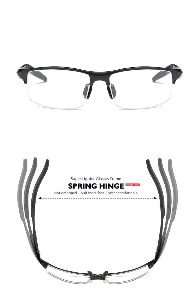 c408b4bb1b COASER Good SPORT Men Glasses Frame TR90 Lighter Reading ...