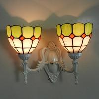 Fashion Stud Wall Lamp Living Room Dining Modern Minimalist Mirror Front Lamps Bedroom Bedside Inn Hotel