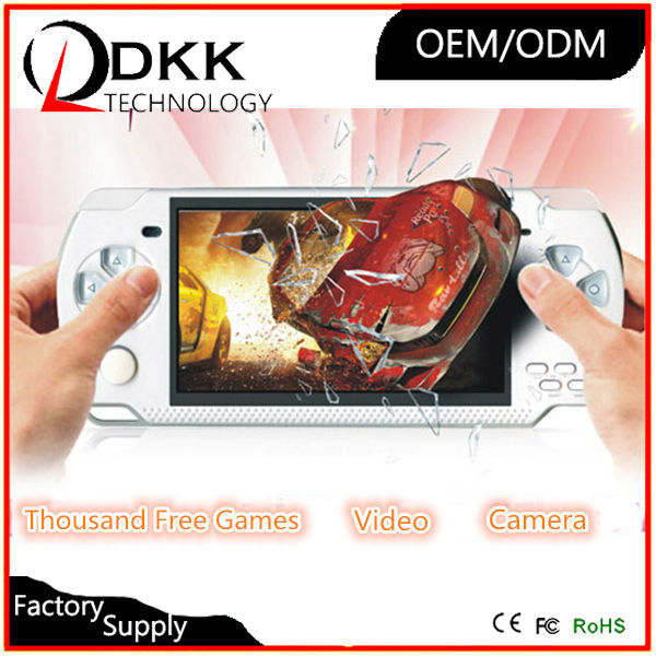 DHL FedEx Delivery 4.3 inch color screen handheld game console 8GB memory MP5 game player support Video Camera Music E-book